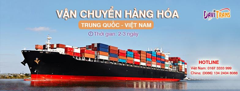 Quy trình chuyển hàng từ Trung Quốc về Việt Nam tại Davitrans