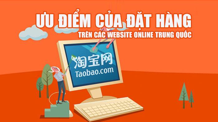 Ưu điểm của đặt hàng trên các website online Trung Quốc