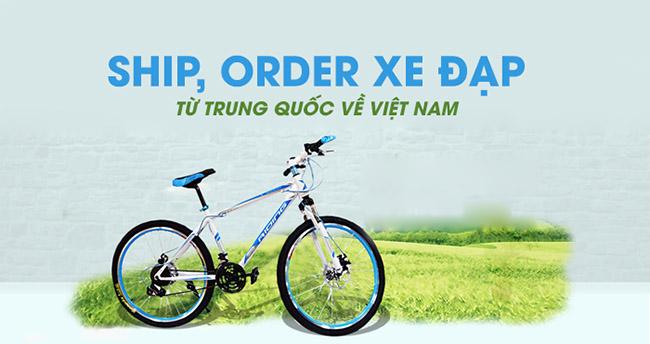 Cách ship, order xe đạp từ Trung Quốc về Việt Nam trong 3 ngày với giá siêu rẻ