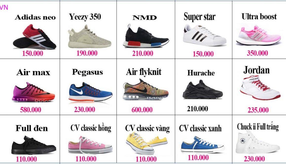 Nhận đặt hàng giày dép Quảng Châu về Hà Nội uy tín