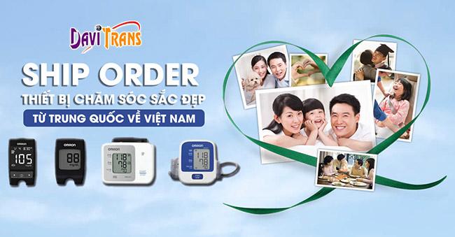 Nên thuê công ty nào ship, order thiết bị chăm sóc sắc đẹp từ Trung Quốc về Việt Nam?
