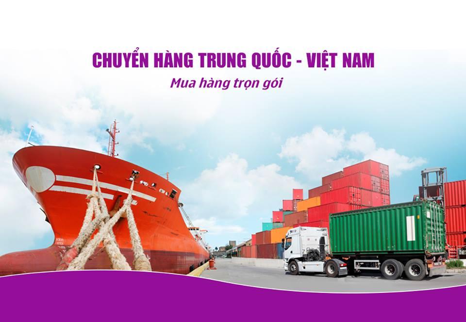 Có thể vận chuyển hàng hóa từ Trung Quốc về Việt Nam bằng cách nào