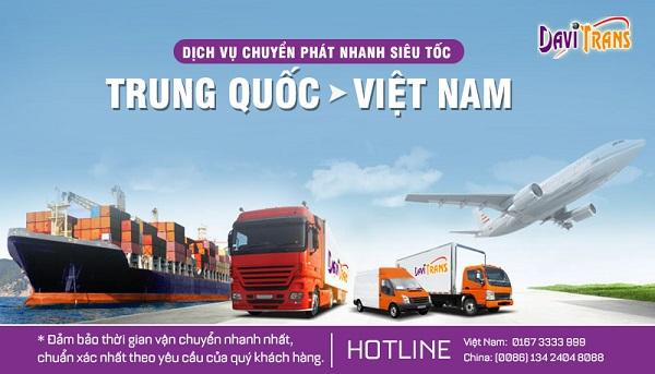 Ưu điểm vượt trội của dịch vụ chuyển phát nhanh siêu tốc Trung Quốc Việt Nam