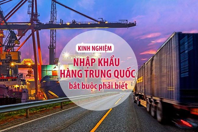Kinh nghiệm nhập hàng, vận chuyển hàng từ Quảng Châu Trung Quốc về Việt Nam an toàn