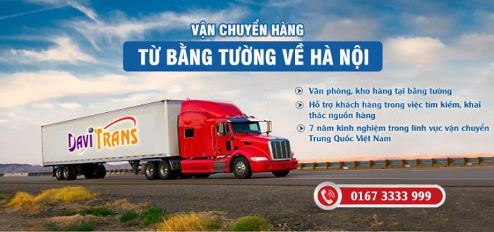 Cách ship hàng từ Bằng Tường về Hà Nội