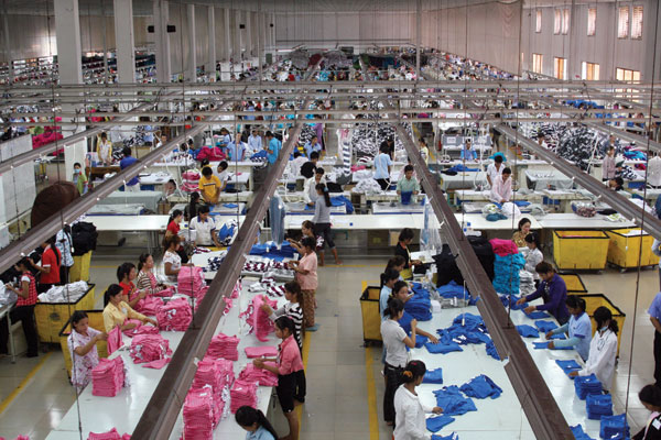 Địa chỉ xưởng sản xuất và thiết kế thời trang hàng đầu Trung Quốc