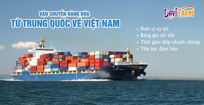 Có nên vận chuyển hàng hóa từ Trung Quốc về Việt Nam bằng đường biển không?