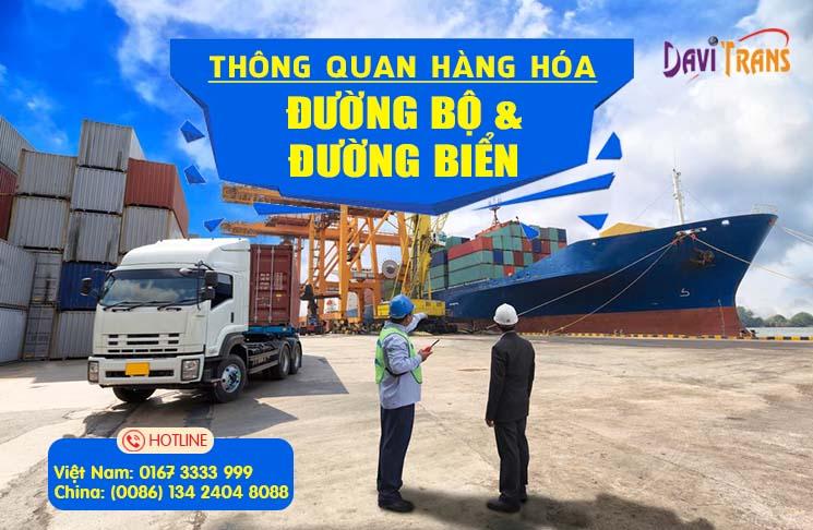 Những thủ tục và dịch vụ thông quan uy tín cần thiết khi nhập hàng từ Trung Quốc về Việt Nam