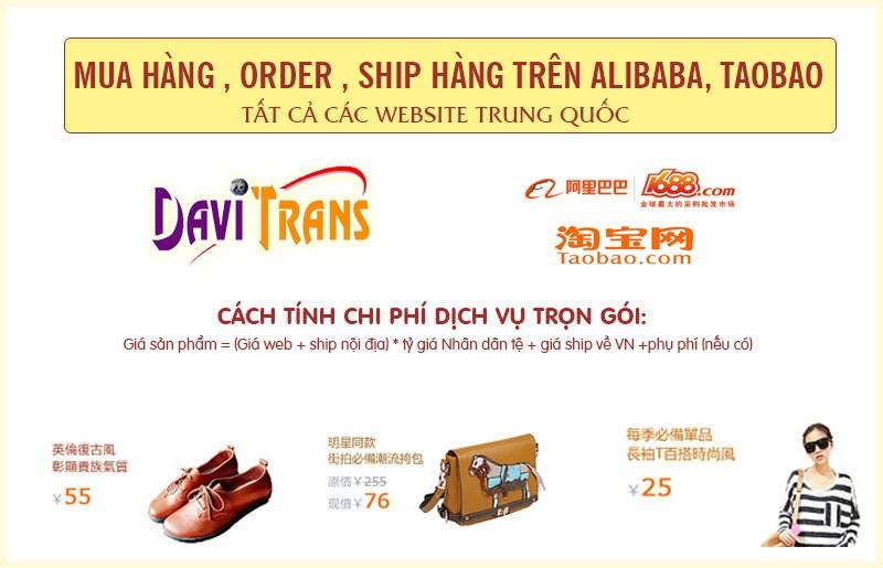 Hàng xách tay Trung Quốc và dịch vụ nhận xách tay hàng từ Trung Quốc về Việt Nam