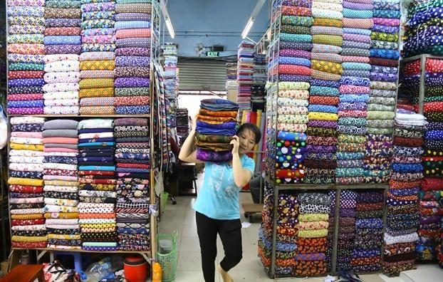 chợ vải trung đại