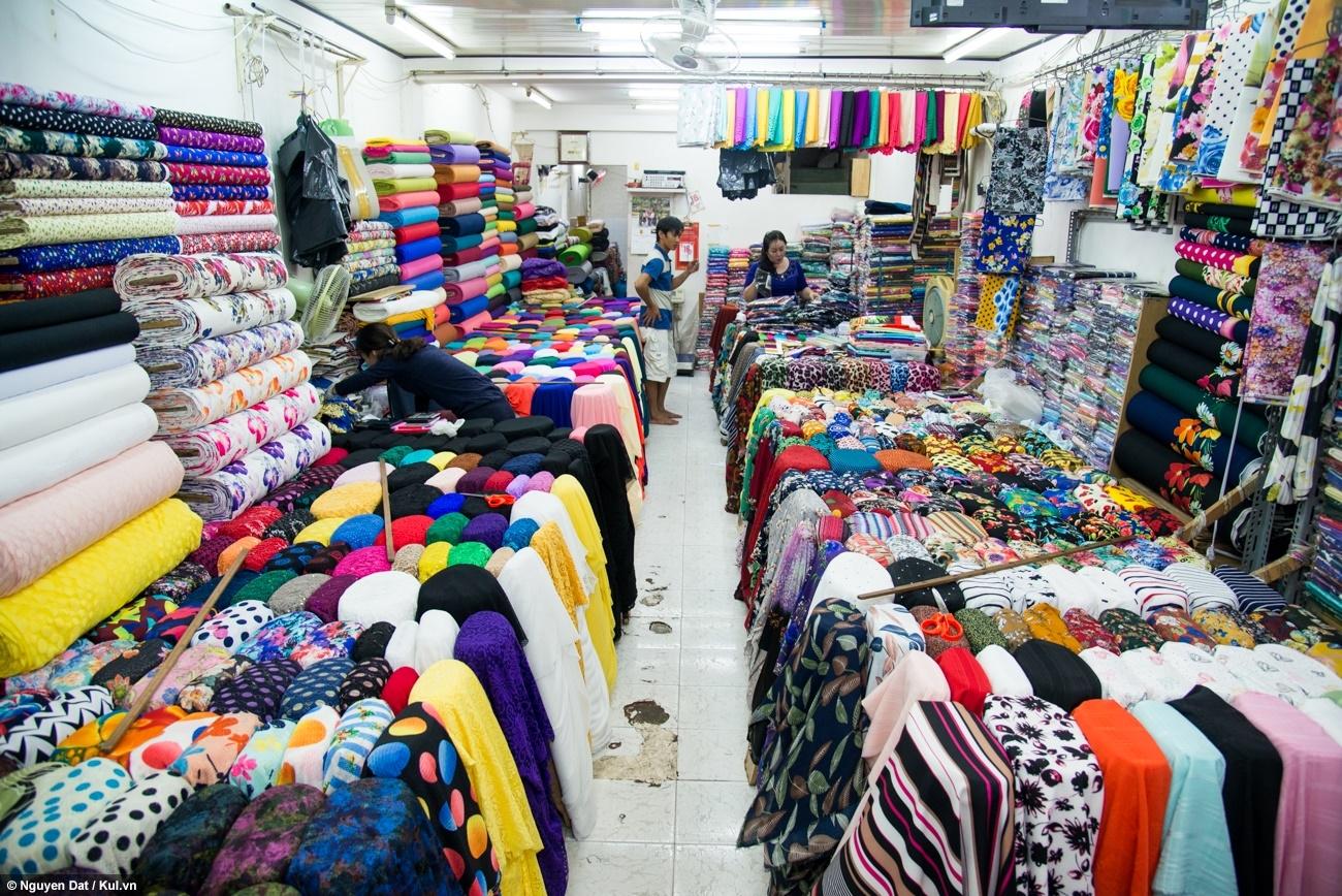 chợ vải đông hưng