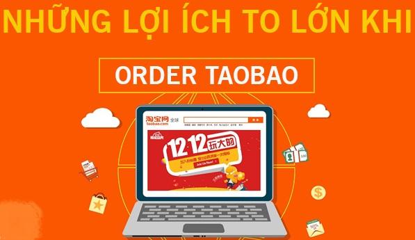 Lợi ích khi đặt hàng trên Taobao