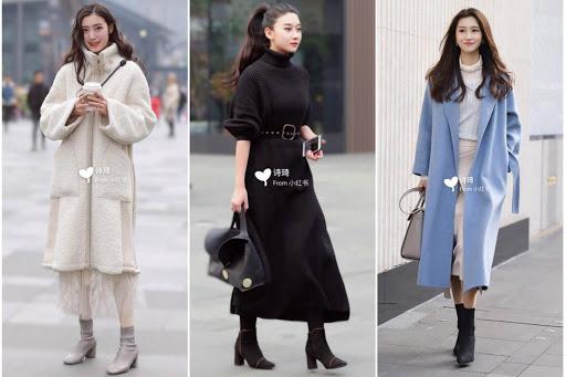 Top 10 cách phối áo khoác nữ Trung Quốc cho cô nàng ấm áp, điệu đà