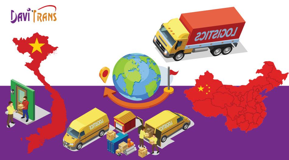 Dịch vụ Vận chuyển đường bộ hai chiều Trung Quốc Việt Nam